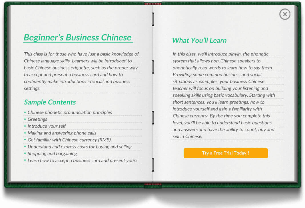 Mandarin course for businesslearn business chinese online want to receive regular chinese language tips trivia m4hsunfo
