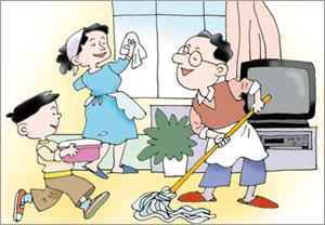 clean houses