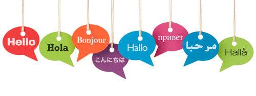 language skills in Chinese resume