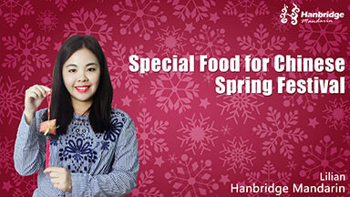 Special Food for Chinese Spring Festival